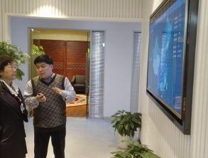 商务部驻上海特派员向欣一行莅临上海万博体育max手机注册万博体育manbetx交易服务中心指导工作